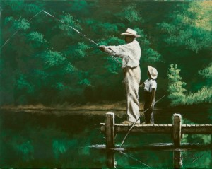 Grandpa's Fishing Lesson