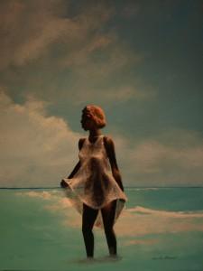 Woman at the Shore